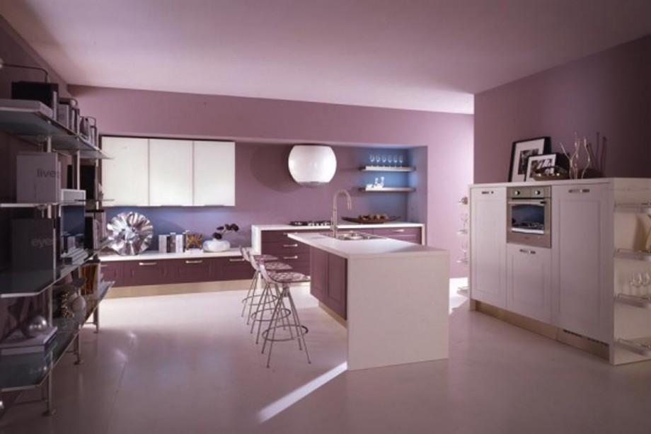 newly violet cooking room imaginations