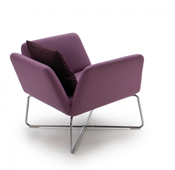 purple backside chair plans