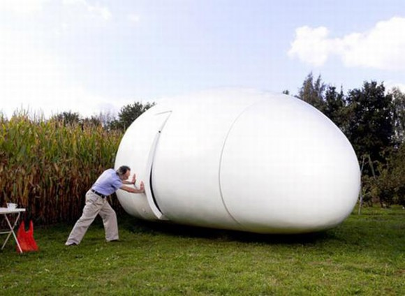 super cool white egg house ideas