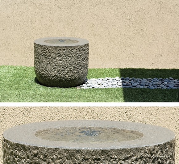 vintage granite fountain designs