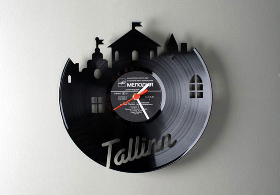 chic vinyl clock inspirations
