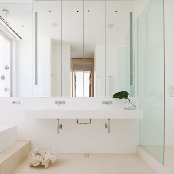 clean and clear bathroom applications