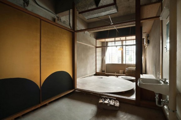 contemporary  Japanese hotel decorations