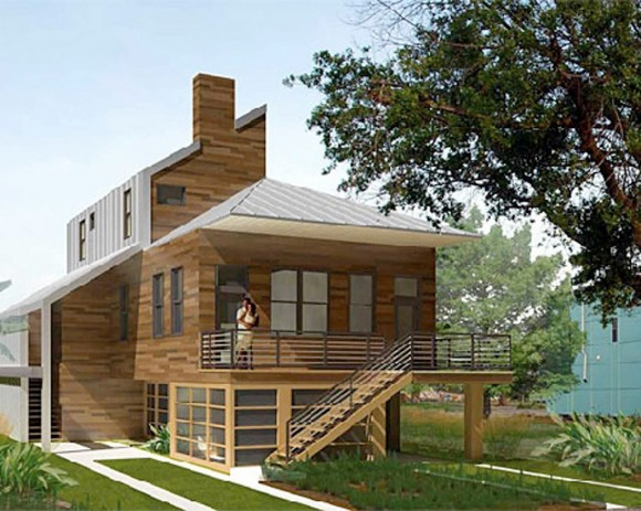 contemporary sustainable home designs