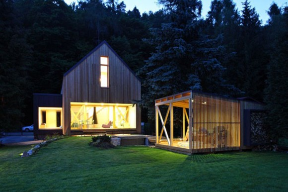 exciting wooden home designs