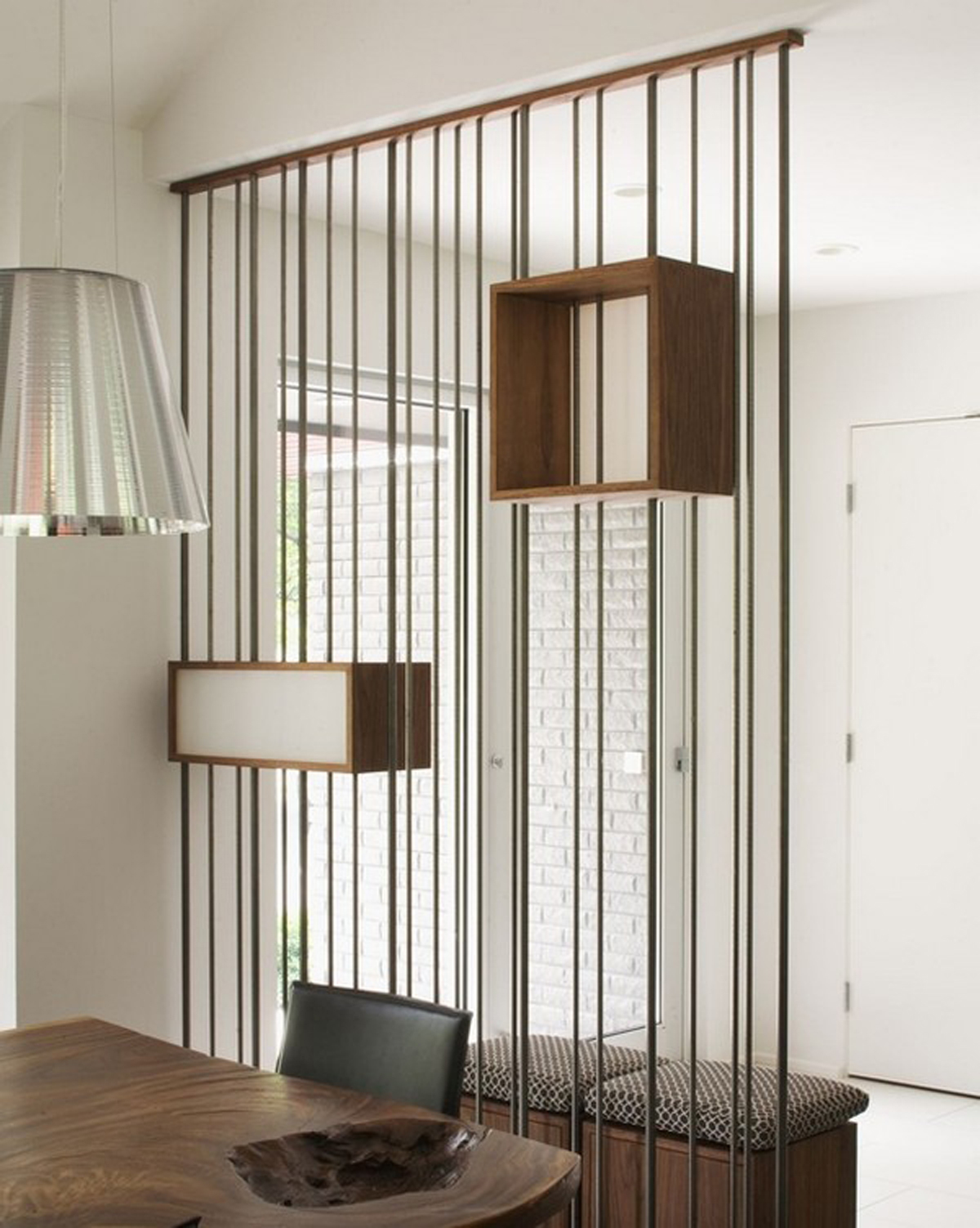 Functional room divider ideas - Separateur de piece ...