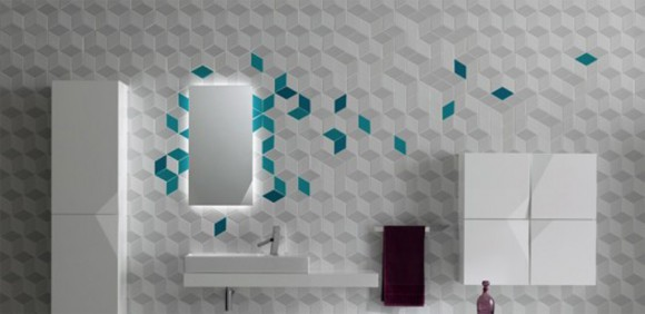 futuristic bathroom tiles designs
