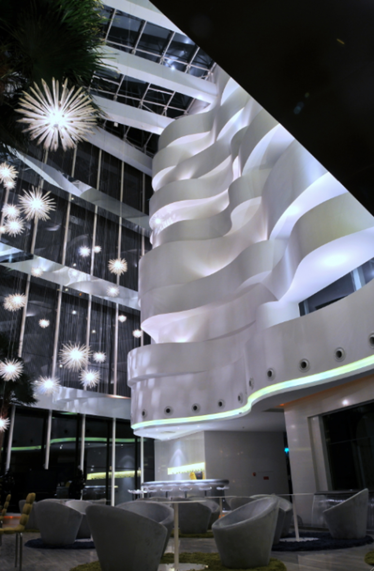 futuristic private club designs
