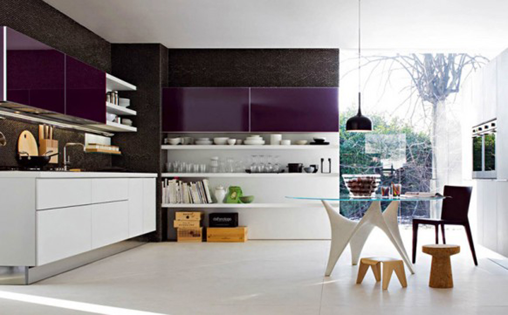 Style Kitchen Simple Futuristic Futuristic Simple Home Decor Plans