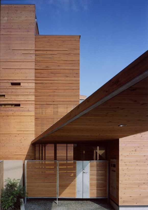 laminated japanese home designs