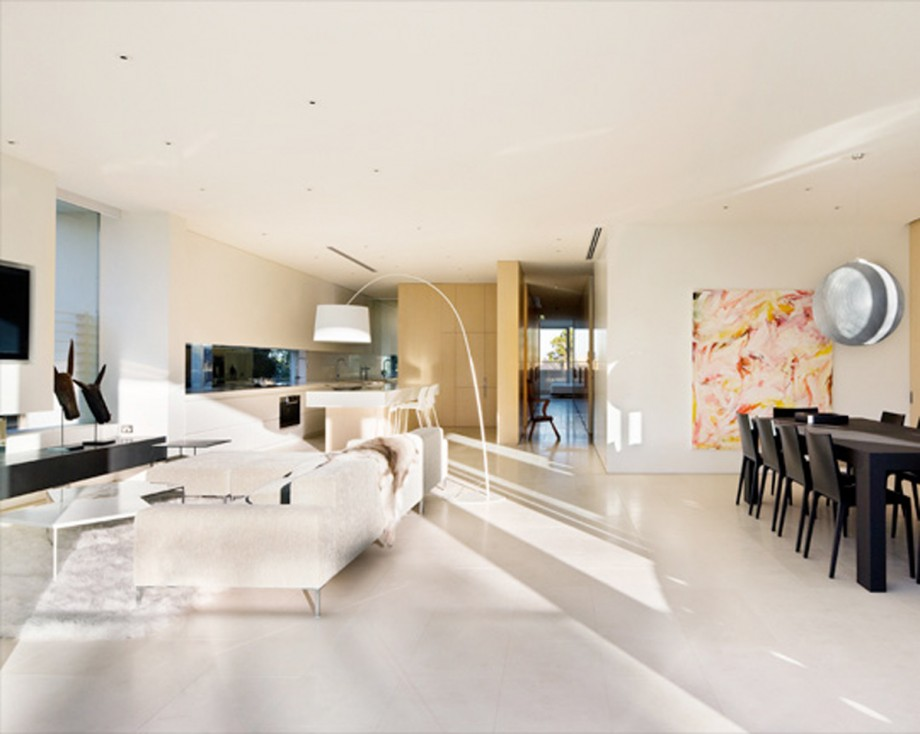 Light And Airy Apartment Interior Plans