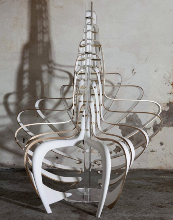 lovely artistic panton chair ideas
