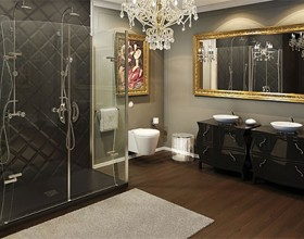 luxury frameless shower designs