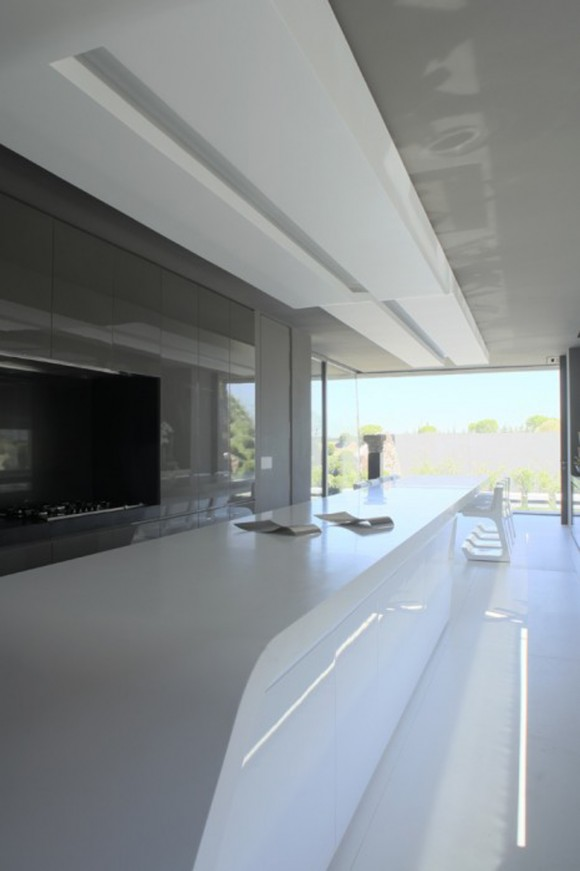 minimalist glowing kitchen space inspirations