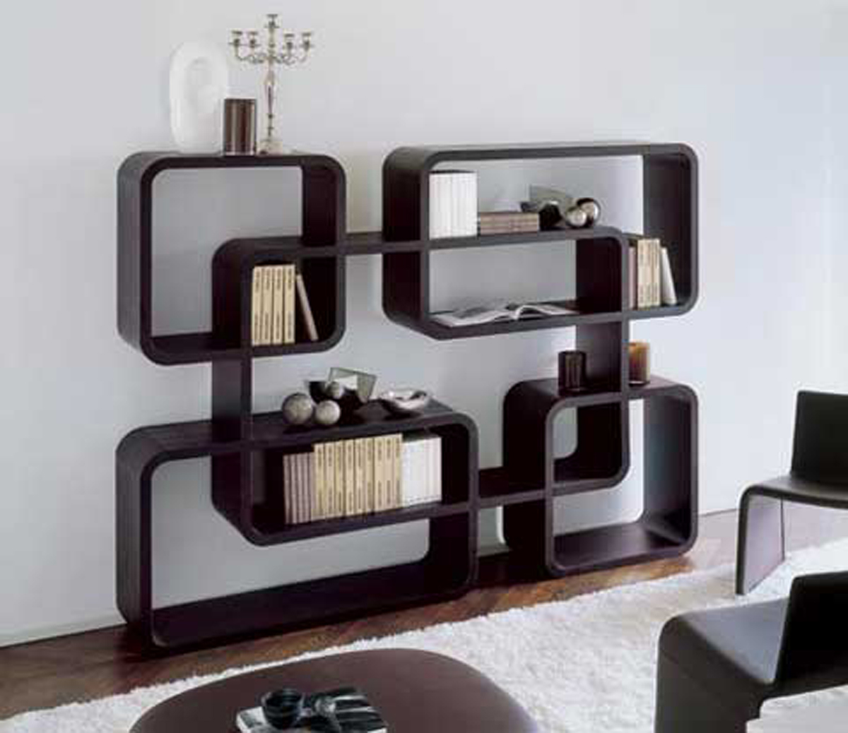 Modern bookcase design ideas - Modern bookshelf plans ...