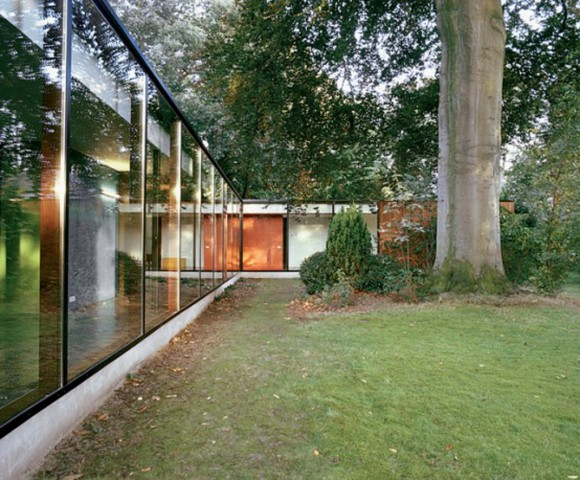 modern glass home application ideas