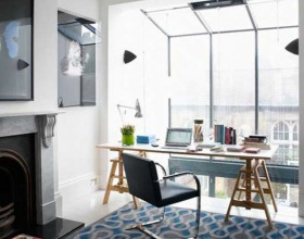 modern office desk and chair ideas