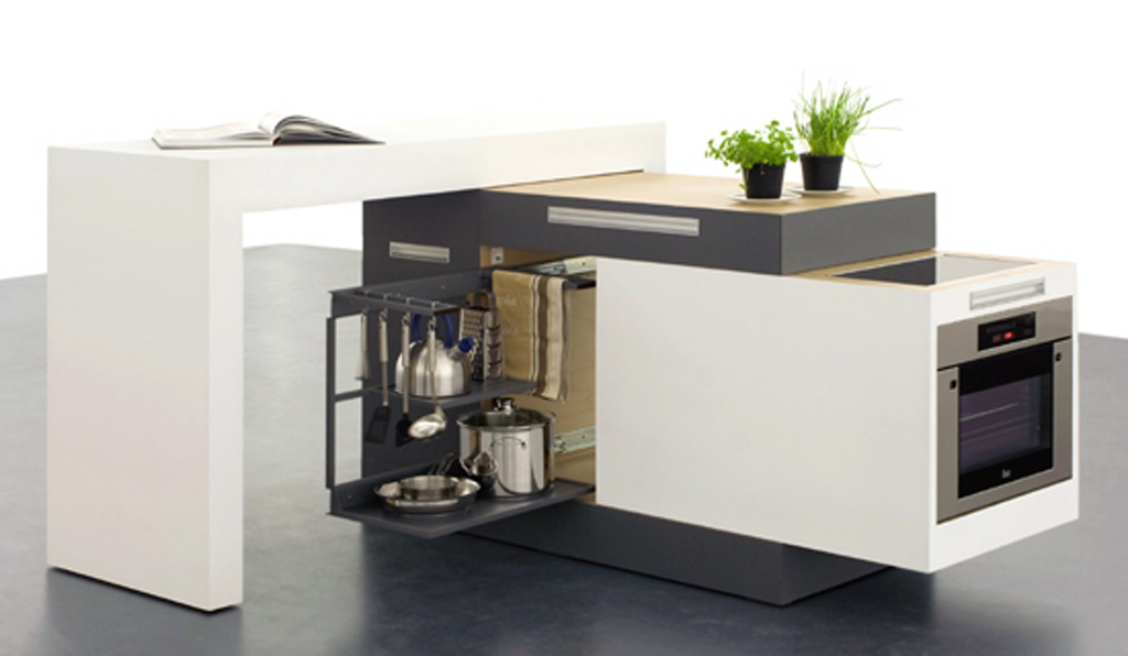 Modern small modular kitchen designs for Compact kitchen designs