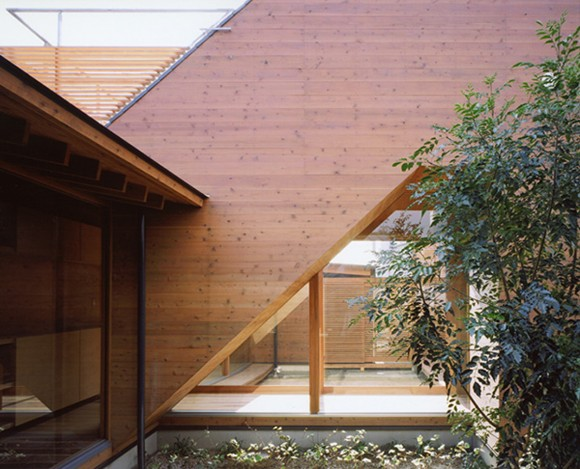 restricted wooden japanese home ideas