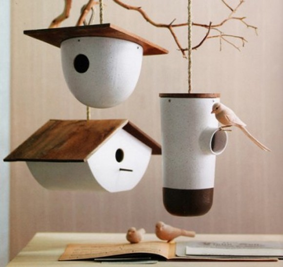 small and tiny bird house designs
