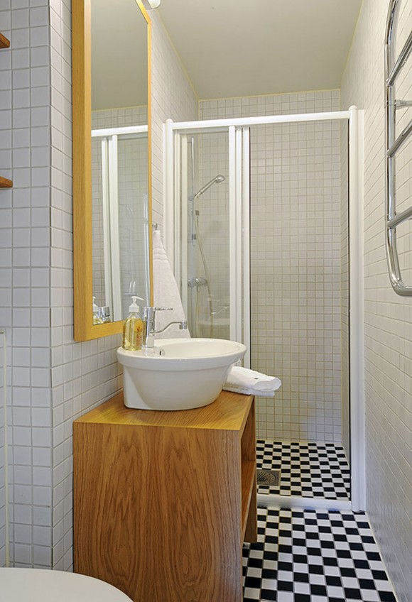 Space Saving Bathroom Layouts
