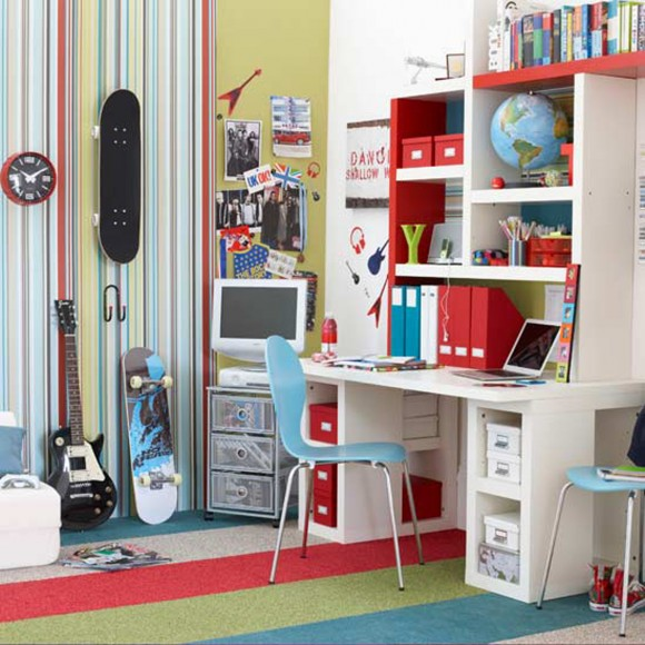 super cool kids and teen room