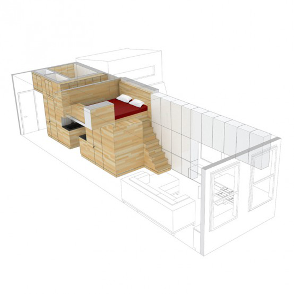 Super Small Living Space Constructions