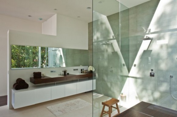 transparent bathroom residence layouts