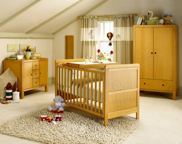vintage old baby furniture layouts