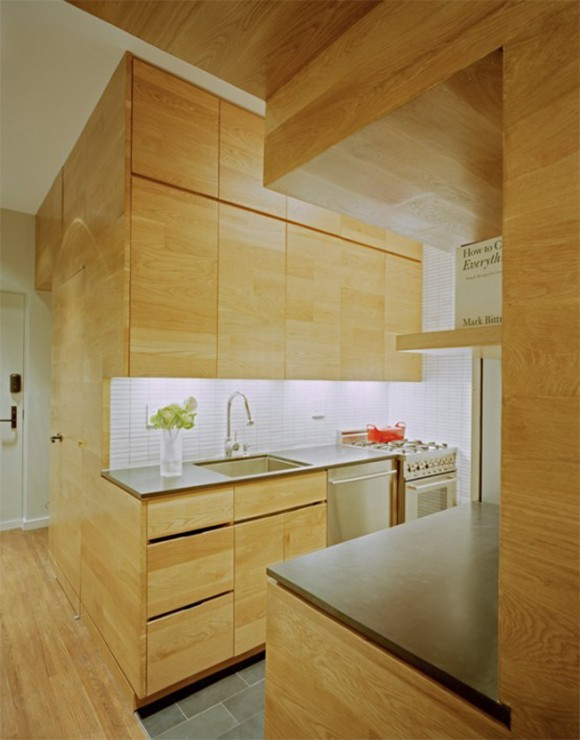 wooden compact kitchen applications