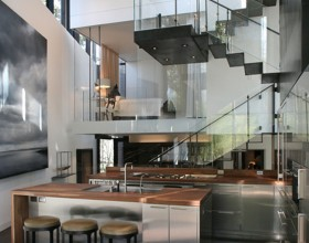 best glass staircase designs
