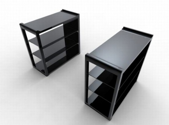 black exclusive office furniture plans