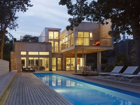 contemporary beach house designs