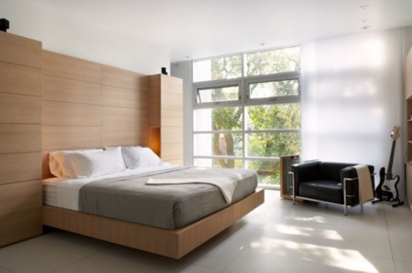 contemporary bedroom decor plans