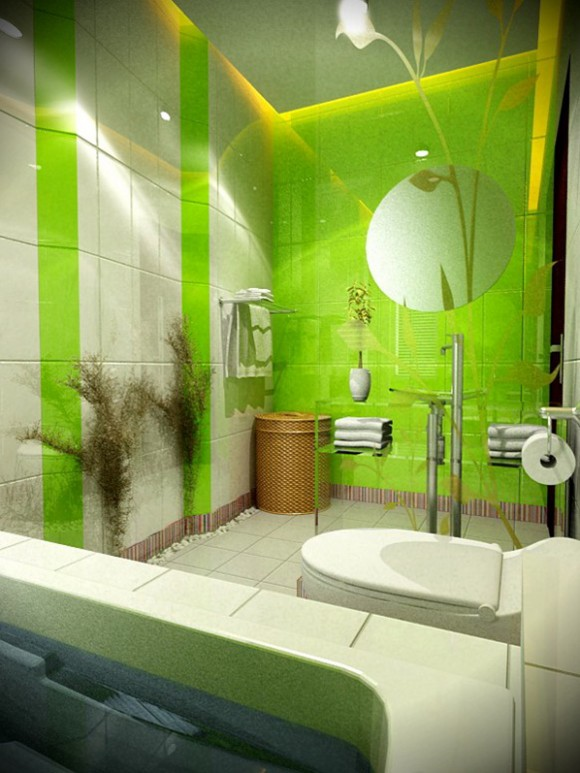 eco green bathing space constructions