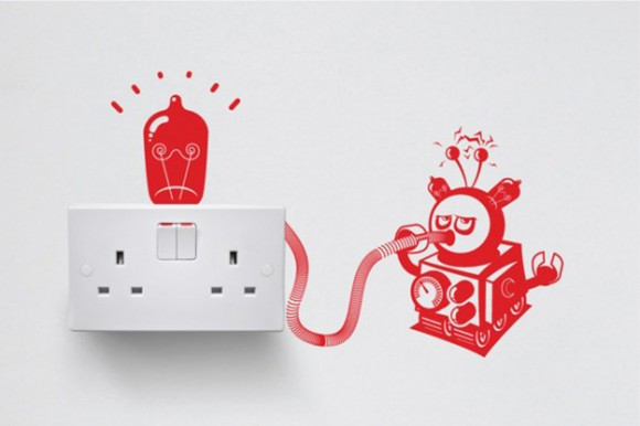 expressive vinyl switch outlets designs
