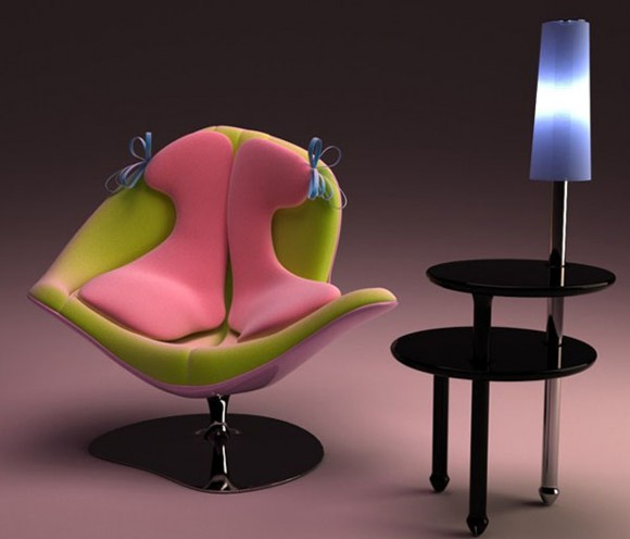 feminine chair furniture designs