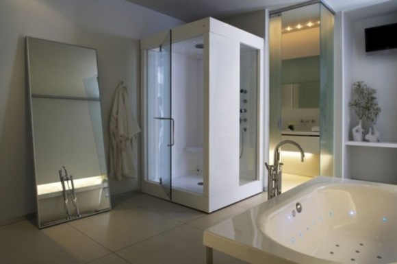 futuristic bathroom dream house ideas
