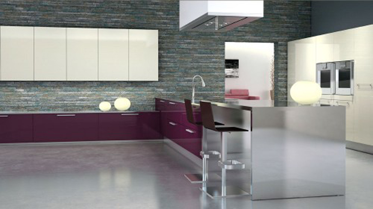 Futuristic kitchen designs images for Kitchen design images