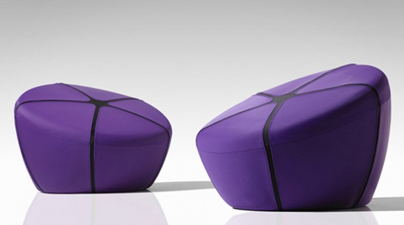 futuristic pouf chair ideas