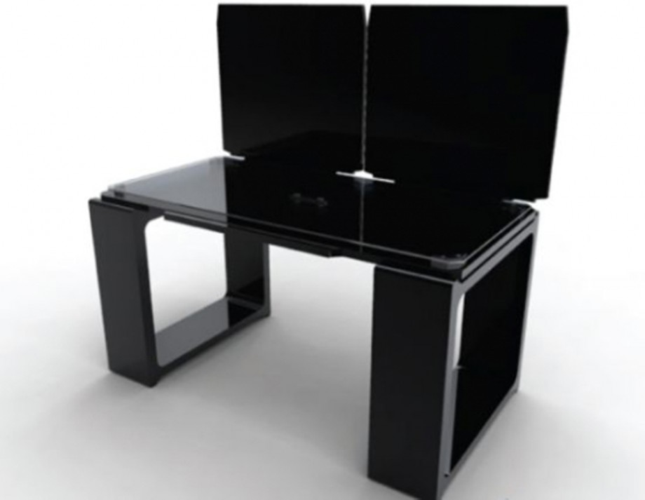 snapshots modern futuristic black office furniture designs description