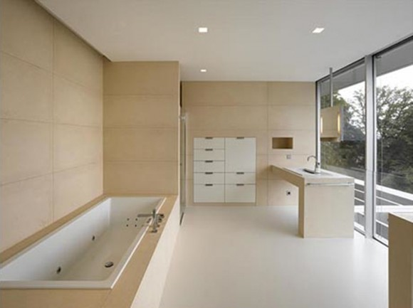 invisible contemporary bathroom ideas