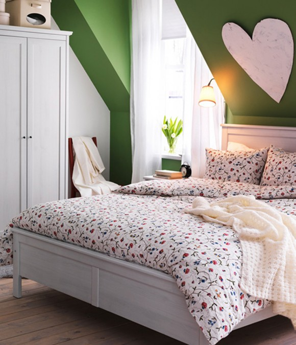 lovely IKEA bedroom inspirations 2011