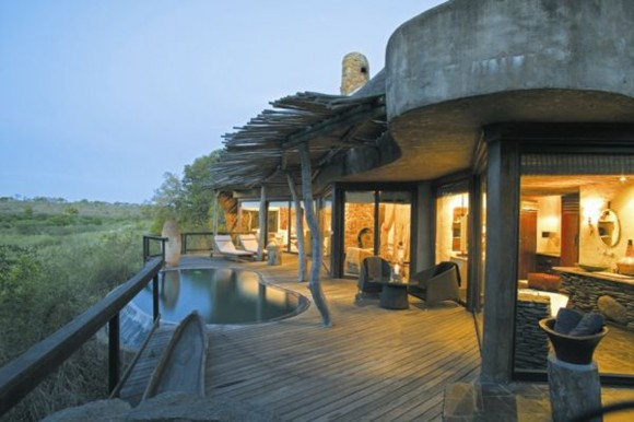pretty african tropical villa designs