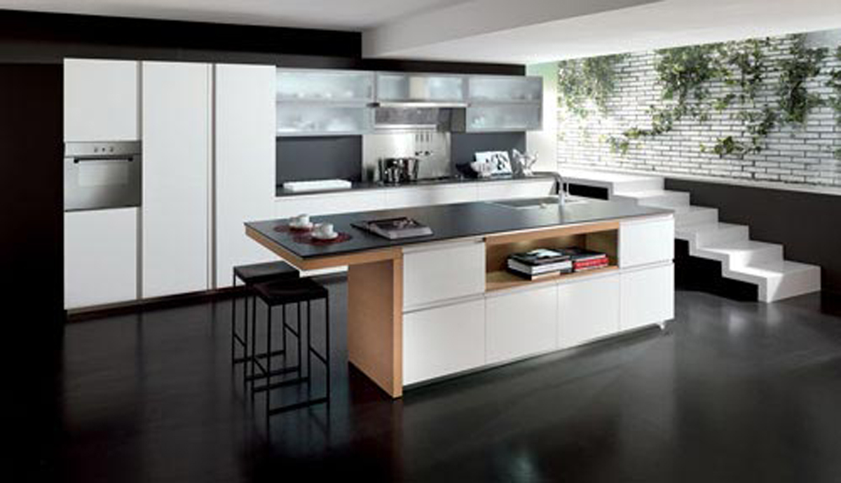 Simple kitchen decor layouts for Contemporary kitchen art decor