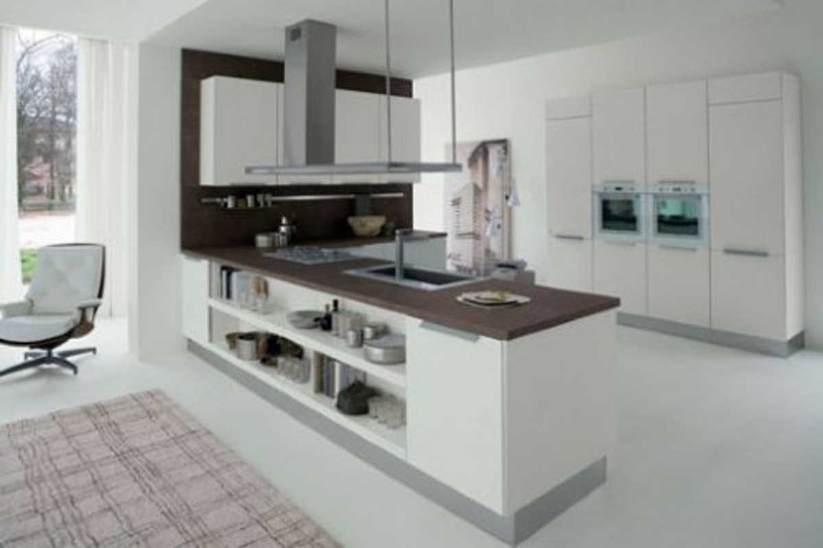 Super comfy home space imaginations for Super small kitchen ideas