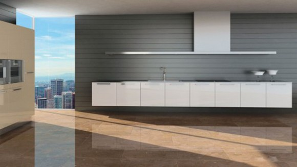 super modern cooking space layouts
