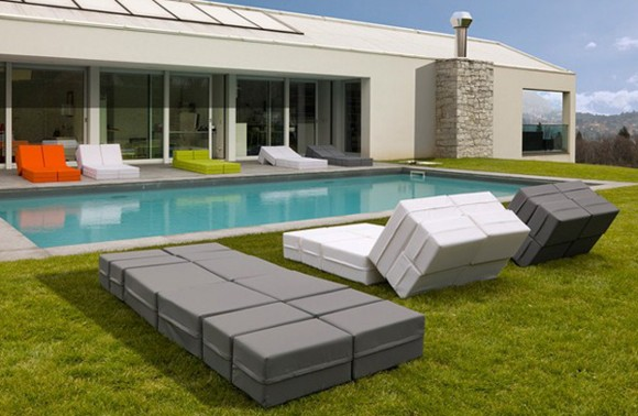 ultra modern poolside lounge ideas