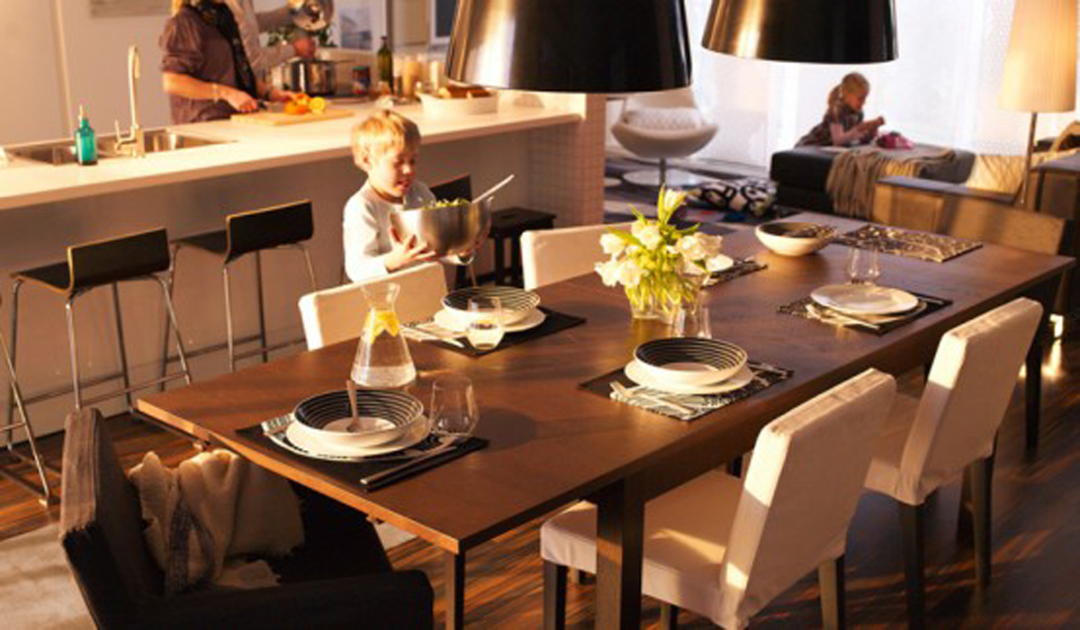 warm ikea dining room designs 2011 iroonie com