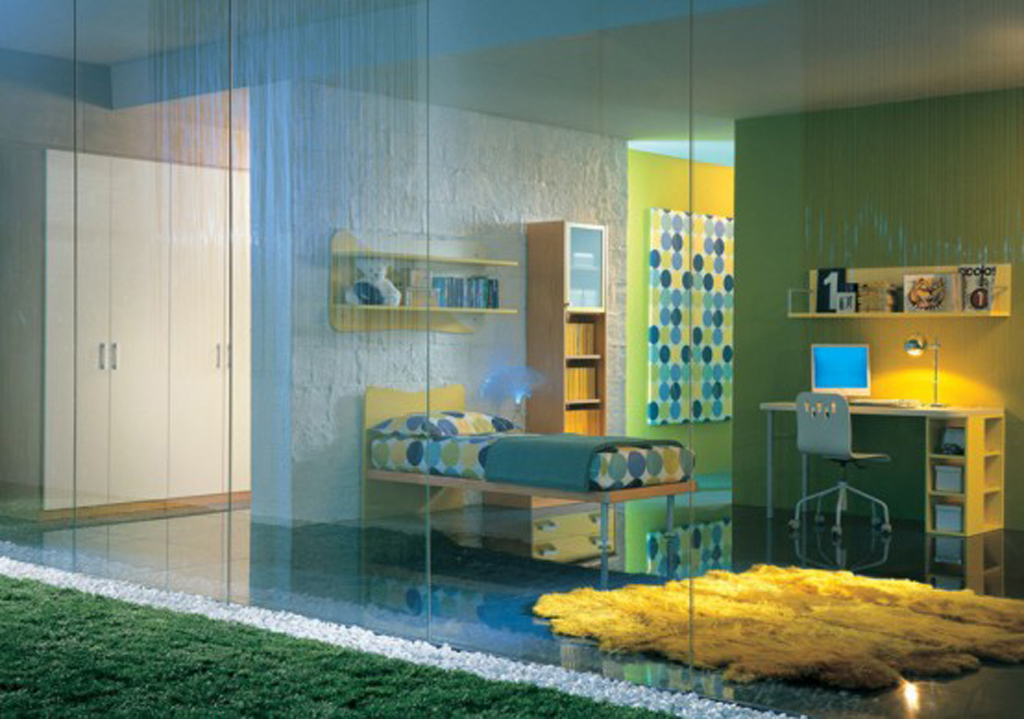Best green children room designs for Best kid bedroom designs